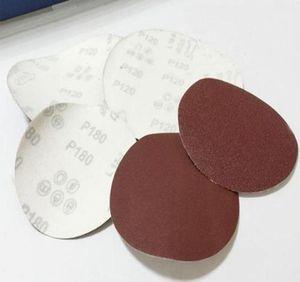 Whism 3 Inches Sanding Paper Aluminum Oxide Polishing Pad Grinding Disc Sandpaper Polisher Mat 40-2000 Gri jllCNV garden_light