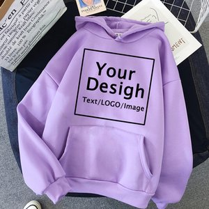 Women Custom Hoodie Customize Logo Personalized Hoodie student casual Customized Print Text DIY Hoodie Drop Shipping Sweatshirts