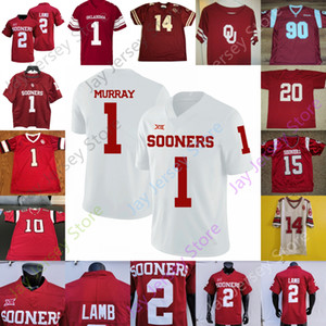 Oklahoma mais cedo jersey jersey ncaa college jalen dói tria sermão rhamondre stevenson kennedy brooks ceediee lamb miller haselwood sims