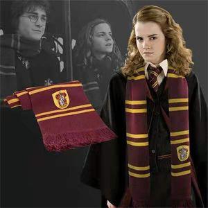 Harry potter quatro faculdade distintivo grosso lenço