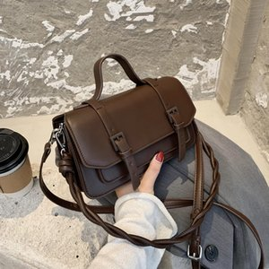 newI Mini PU Leather Crossbody Bags For Women 2020 New Fashion Shoulder Handbags Female Travel Lipstick Totes 9AMA
