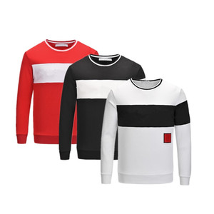 Design Sweatshirts Hoodies Sweatshirts White For Men Letter Male Black Casual Hip Hop Sport Men's Top Pullover