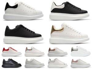Sneakers da donna Solido Casual 2020 Piattaforma in pelle scamosciata in pelle scamosciata Zapatillas con cestelli Scarpe Velluto Black Boots Grey Mens