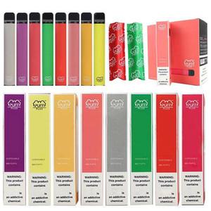 37 Flavors Puff Bar Plus Disposable Vapes Device Pod Kit 800 puffbars 3.2ml 550mah Cartridges Vape Pre-filled Pen Vape Cart e cigarette Cig