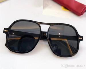 Quality New Unisex Big Square fullrim Pilot Sunglasses UV400 59-20-145mm Imported Pure-plank Euro-am Star-style Fullset packing Freeshipping