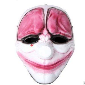 von Collectors Produktionsmaske Halloween-Geschenk-Game-Ernte-Tag 2 rote Kopfharz-Maske-Schädel