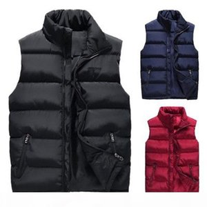 Mens Winter Down Quilted Vest Body Warmer Warm Sleeveless Padded Jacket Coat New