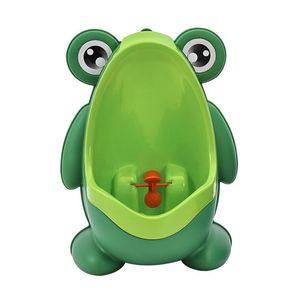 2020 Frog Baby Potty Toilet Urinal Kids Potty Training Baby Boys Pee Toilet Infant Bathroom Wall-Mounted Urinal Girls Travel Potty