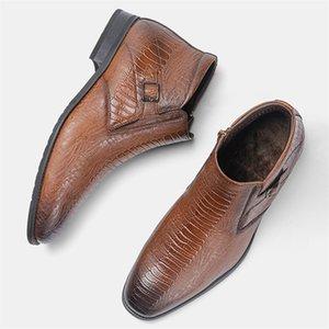 40-46 Brand Uomo Boots Wootten Top Quality Bello Comodo Retro Pelle Pelle Stivali Martin # KD5286C3 LJ201214