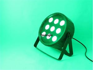 8шт рождественские вечеринки этап украшения Szbecen PAR LED 9x15W DMX RGBWA 5 в 1 светодиод Par 64 плоский свет