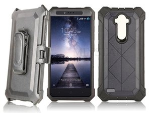 for LG Stylo 6 5 Aristo 4 Samsung A20 A30 A50 A10E S20 Ultra Note 20 Plus S21 S30 Hybrid Crystal Belt Clip Holster Defender Case