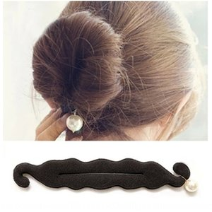 Ball hair Jewelry accessories accessories Pearl double hook sponge plate hair stick store new jewelry