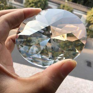 80mm Cristal Prism Suncatcher Chandelier Pingente De Vidro Arte DIY Pendurado UFO Disc Arrow Cabeça Corte de Árvore H BBYWPA
