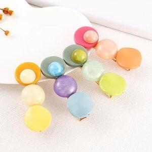 Fashion Acrylic Stone Hair Clip For Women Girls Elegant Beauty Styling Barrette Stick hair pins tiara ornaments