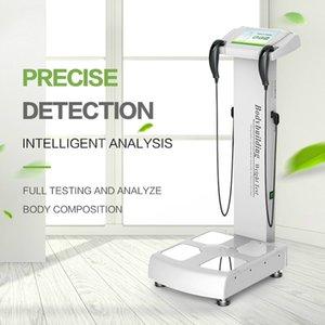 Beliebte Body Analyzer-Skala Höhe und Gewichtstest mit Infrarotdrucker A4 Drucker für Salon und Fitnessstudio