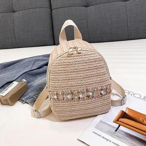 Novos Benefícios Pequenos Flap Crossbody Bags Mulheres Cor Correspondência Selvagem Moda Lazer Travel Saco Saco de Estudante Backpack 618P