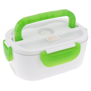 Portable 12v 1.5l Split Type Portable Food Warmer Heating Keeping Electric Lunch Box With Spoon 12v Charging Line For Car jllMHk