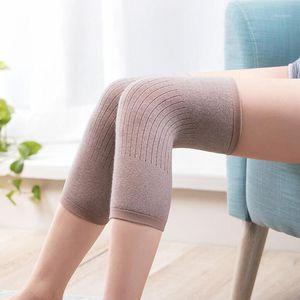 1 par cashmere kneepad quente joelho joelho apoio homens e mulheres ciclismo alongamento prevenir artrite joelho pad1