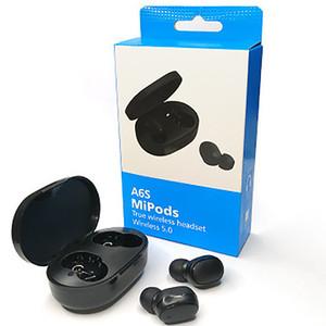 A6S TWS Earphone Wireless Headphones 5.0 Sports Waterproof Earbuds true Stereo In Ear Headset For Redmi Huawei Samsung