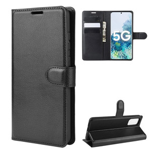 Custodia con portafoglio in pelle con motivo per Samsung Galaxy S21 S20 Plus Cover flip per Samsung A02S A32 A42 A60 A70 A90 A21S A01