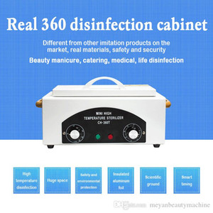 Mini High Temperature Sterilizer Box Nail Art Salon Manicure Tool Dry Tweezers Scissors Beauty Nail Disinfection Cabinet
