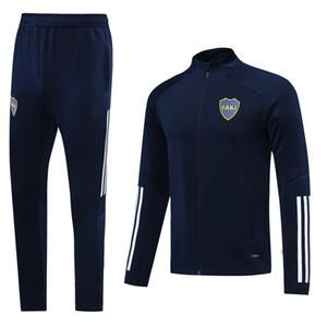 2020 2021 Boca Juniors Football Jersey Boca Juniors Gago Osvaldo Carlitos Perez de Rossi Tevez Pavon JRS Giacca da uomo Sportswear Set