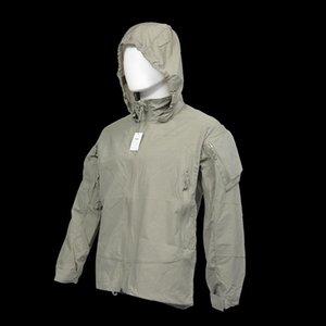 야외 전술 소프트 쉘 후드 워싱트 얇은 스타일 PCU L5 자켓 필드 코트