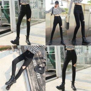 XF6 LMCAVASUN Hohe Taille Jeans Hosen Frauen Freund Jeans Für Damen Hosen Casl Lady Jeans Denim Harem Harajuku Frauen Wide