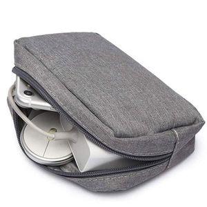 Travel USB Flash Drives Case Organizer Bag Digital Storage Чехол Наушники Кабель Y3NE