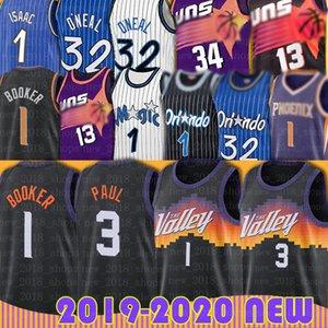 Devin Chris Booker Paul PhoenixGüneşlerJersey OrlandoSihirShaquille Penny O'Neal Hardaway McGrady Basketbol Nash Barkley