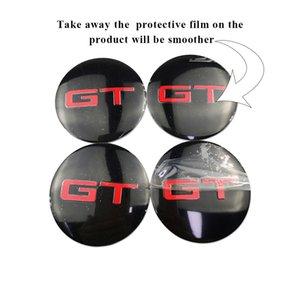 56mm محور العجلات قبعات ل سباق GT لمرسيدس بنز AMG فولكس واجن فورد شيلبي بي ام دبليو بويك نيسان ميغ