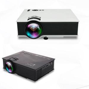 Projecteur multimédia de projecteur d'origine Unic Unic UC46 Mini-LED Projecteur multimédia Full HD 1080P Video Projetor Mise à niveau de UC46