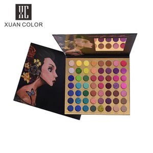 2020 Fashion Beauty Makeup 56 Color Eyeshadow Palette Glitter Shimmer Matte Eye Shadow Pallete High Pigmented Cosmetic Make up