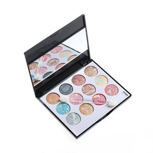 Professional 12 Colors SET Waterproof Earth Color Eye Make Up Highlighter Palette Eyeshadow Cosmetic Makeup Eyeshadow Palette