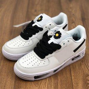 Peaceminusone Kaykay x 1 Düşük A F 1 Beyaz Şerit Daisy 07 Spor Sneakers 2.0 Üniversite G-Dragon Tasarımcı Platformu Ayakkabı