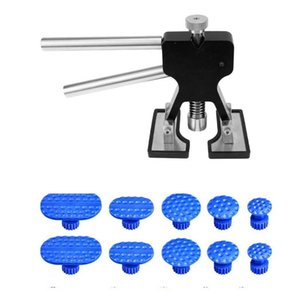 Stainless Steel Adjustment Knob Auto Car Paintless Dent Repair Tools Dent Removal Glue Puller Tabs Lifter Hand Tool Set