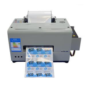 Impresoras A4 Etiqueta Impresora Digital InkJet CMYK COLORES Pegatinas Ciss Tinta Jet Maker Machine1