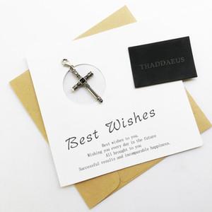 Rivets Skull Cross Charm Hot Selling 925 Sterling Silver Fashion Jewelry For Women Men Fit Thomas Rebellion Bracelet Necklace sqcpUa
