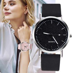 Fashion ladies luxury stainless steel leisure scale quartz watch business analog clock female