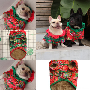fsi Clothes Supplies Warm Sweater Cute Cartoon Pattern dog clothe for large dog boy Christmas Clothes Small and Medium PetPet and Dog