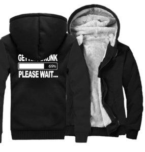 Наличие пьяных модных толстовок для мужчин Новый бренд одежда мужская толстовка толстые флисовые зимние кофты хип-хоп Hoodie