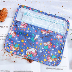 Organizer Cloth For Holder Travel Face Saves Girls Small Storage Portable Makeup Set Purse Kids Bag Cute Dust Masks Handbag Clip Y1 Pmwqk