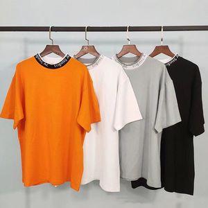 2020 Acne Одежда Homme T Рубашка Мужские Мужчины Женщины Дизайнерские толстовки High Street Print T Рубашка Размер XXS-S