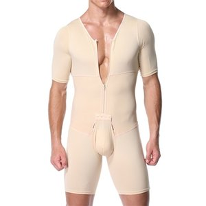Shapers Sexy Mens Body Shaping Control Slim Corsetto Shapeware Body Body Shaper Body PantsWaist Cincher Cincher Controllo della pancia dimagrante LJ201209