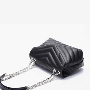 Bolsas de designer Bolsa de Hot Saco Mulheres Poplar Floresta Couro Mulheres Loulou Chain Bag One Ombro Portátil Chain Bag
