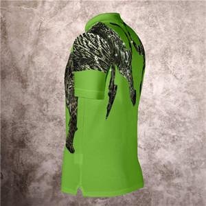 2021 Yeni Yaka Kısa Kollu Phillip Düz Leopar Sıcak Matkap Polo Gömlek Avrupa ve Amerikan Moda Trend İnce Uydurma Erkekler T-Shirt
