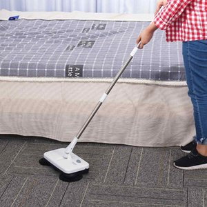 Cordless-Electric-Floor-Sweeper-Mop-and-Dustbin-wiederaufladbares Spinnen-Push-Sweeper-Besen-Reinigungswerkzeug
