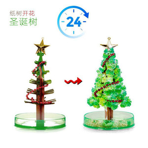 Childrens Educational Toys Christmas Crystal Tree Peace Tree Wishing Tree Kindergarten Baby Early Education Children Holiday Gift
