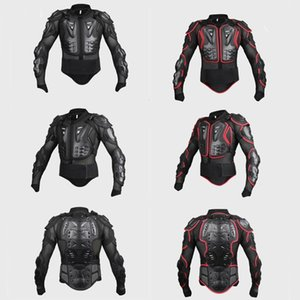 Adult Motorcycle Dirt Bike Body Armor Protective Gear Chest Back Protector Arm Protection Pads for Motocross Skiing Skating Snow