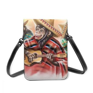Mexican Traditional Dress Playing Guitar Fashion Card Holder Wallet 2021 New Female Wallets Women Zipper Strap Coin Purse